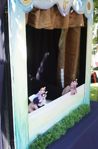 The 3 Little Pigs Puppet Show